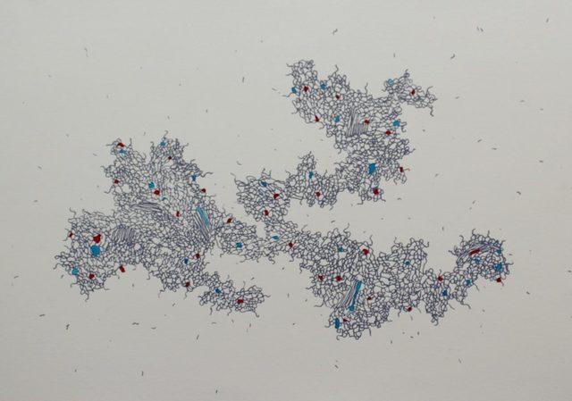 Mongezi Ncaphayi, 'streams of consciousness III', 2015, Clifton Boulder