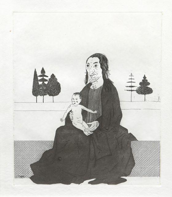 David Hockney, 'The Enchantress with the Baby Rapunzel [SAC 83]', 1969, Roseberys