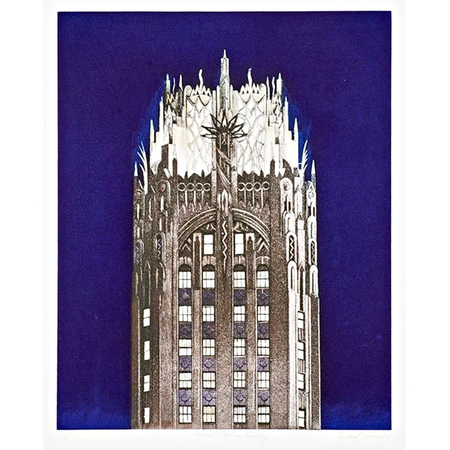 , 'GENERAL ELECTRIC BUILDING (Blue),' 2005, Alpha 137 Gallery