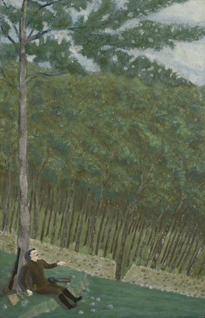 , 'Surpris par la pluie (première goute),' ca. 1943, Jeanne Bucher Jaeger