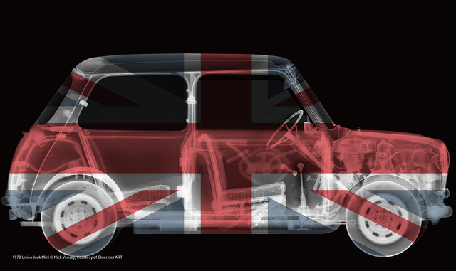 , '1970 Union Jack Mini,' 2014, Bluerider ART
