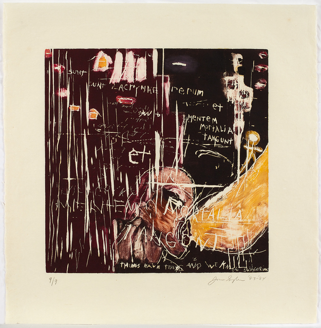 , 'Things Have Tears and We Know Suffering,' 1984, Anders Wahlstedt Fine Art