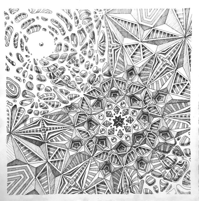 , 'Square Break Study,' 2018, Mirus Gallery