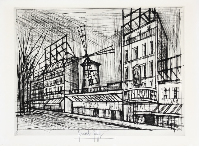 Bernard Buffet, 'Le Moulin Rouge', 1970, Denis Bloch Fine Art