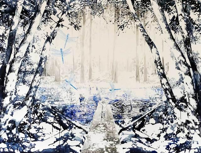 Malgosia Jankowska, 'Libelle blau', 2018, Absolute Art Gallery