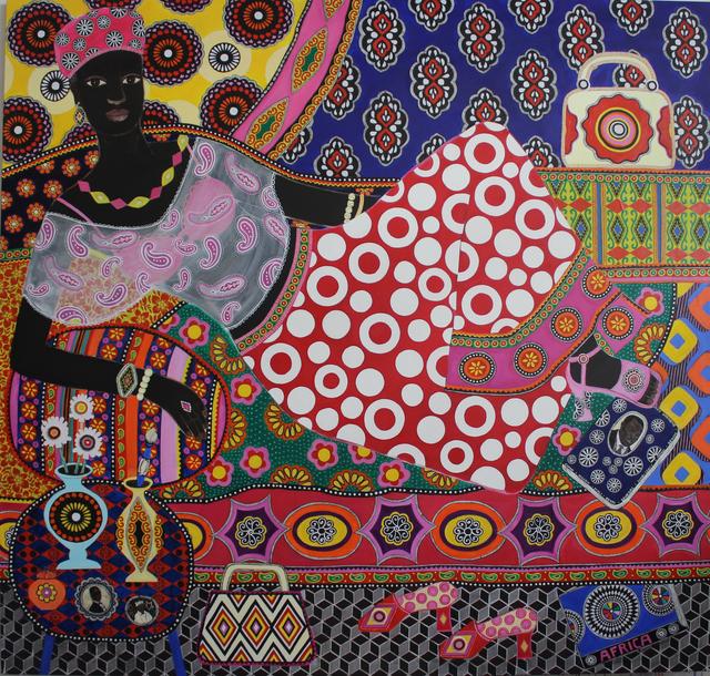 , 'Angèle,' 2018, Rebecca Hossack Art Gallery