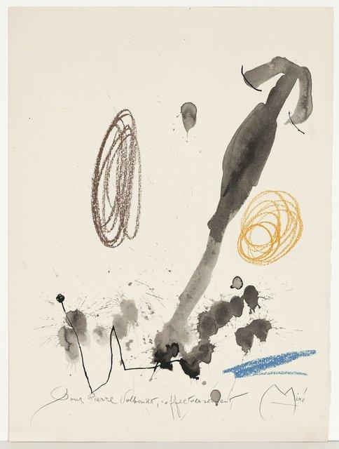Joan Miró, 'Quelques Fleurs #32: Volboudt', 1964, Caviar20