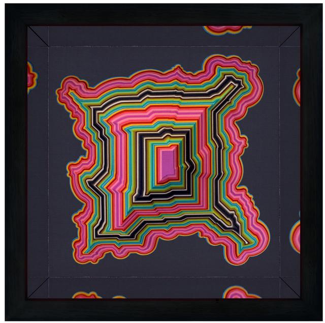 , 'Ediths Psychedelic Positve,' 2015, Flinders Lane Gallery