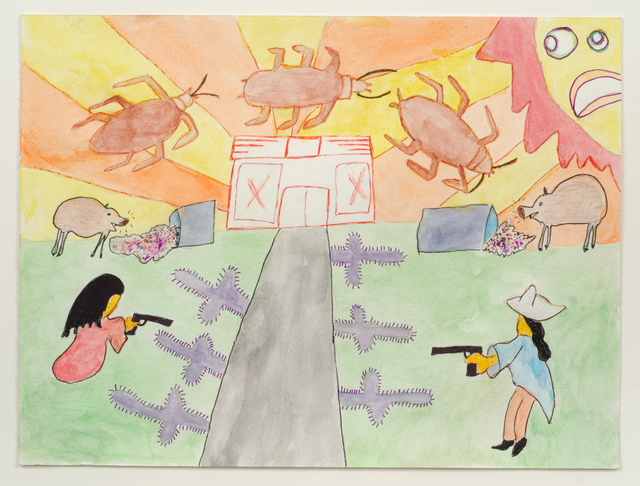 , 'Untitled (Cockroaches and Worried Sun),' 2015, Fleisher/Ollman