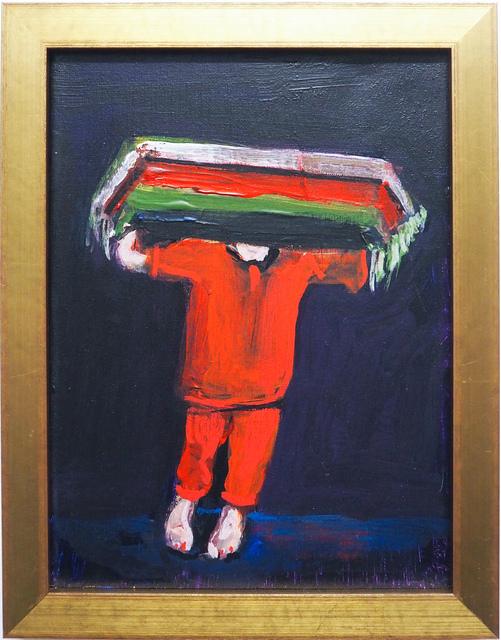 , 'carpet face,' 2018, Kristin Hjellegjerde Gallery