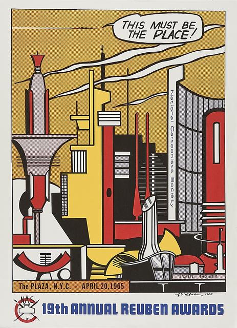 Roy Lichtenstein, 'This Must Be the Place', 1965, Rago