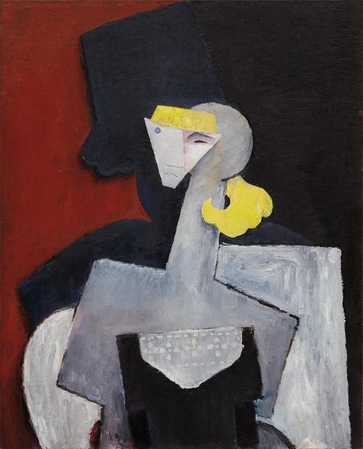 Diego Rivera, 'Retrato de Marevna (Portrait of Marevna)', 1916, Phillips