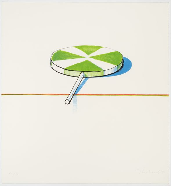 , 'Large Sucker (from Seven Still Lifes and a Rabbit),' 1971, Allan Stone Projects