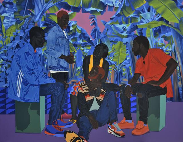 , 'Blue night romance,' 2019, Jack Bell Gallery