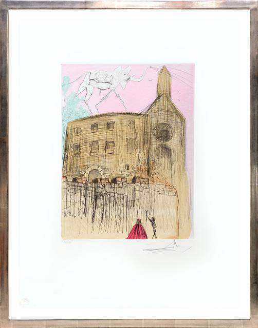 , 'Le chateau de Gala. (Gala's Castle.),' 1974, Peter Harrington Gallery