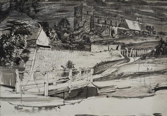 , 'The Bridge at Finchingfield,' ca. 1941, Osborne Samuel