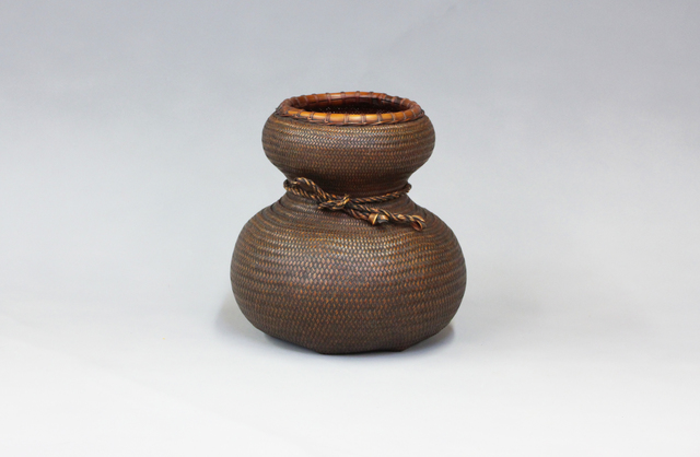 Kosuge Kōgetsu, 'Gourd-Shaped Flower Basket', 1970-1989, Sculpture, Bamboo, TAI Modern