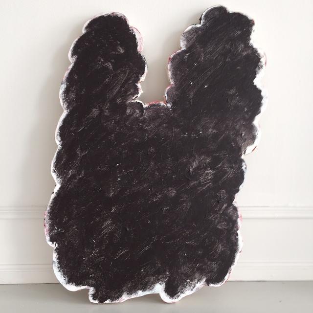 , 'Black Hair Piece,' 2018, Andersen's