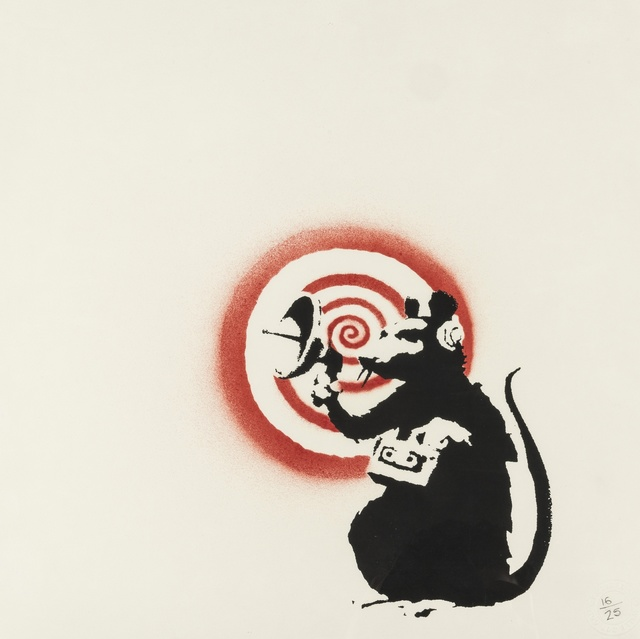 Banksy, 'Radar Rat', 2004, Forum Auctions