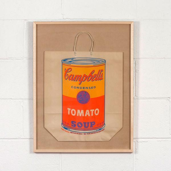 Andy Warhol, 'Soup Can Bag', 1966, Print, Screenprint in colors on shopping bag, Caviar20