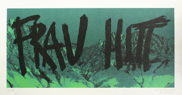 , 'Frau Hitt (grün),' 2003, Galerie Elisabeth & Klaus Thoman