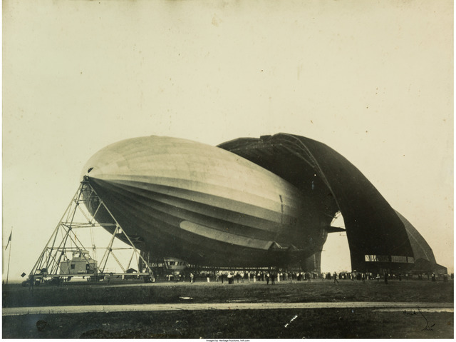 Margaret Bourke-White, 'United States Airship 'Akron' (Zeppelin)', 1931, Heritage Auctions