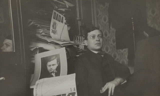 , 'Portrait of Tristan Tzara,' 1920, The Museum of Modern Art