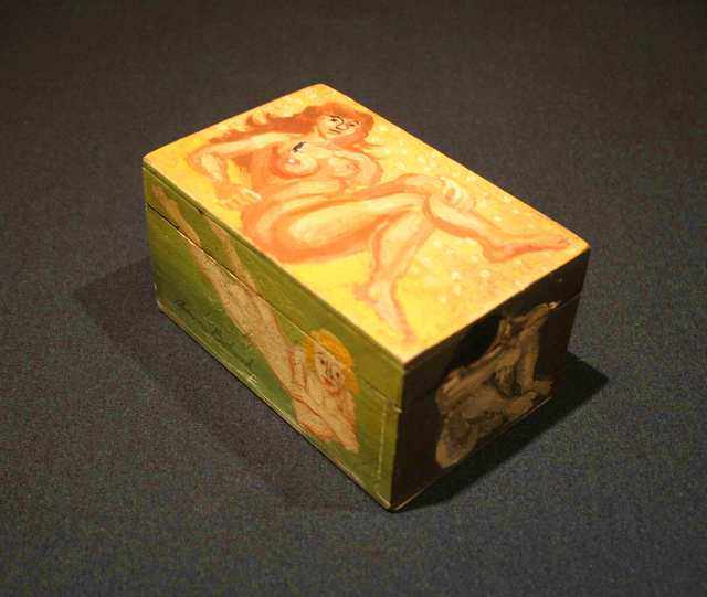 , 'Untitled (Four Nudes), A Hand Painted Wooden Box,' 1927, Richard Norton Gallery