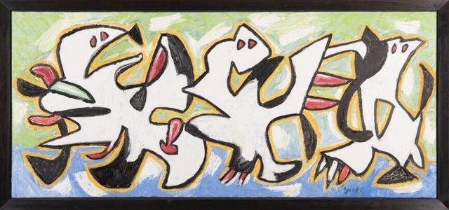 , 'Zarabanda con piso azul,' 2010, Ascaso Gallery