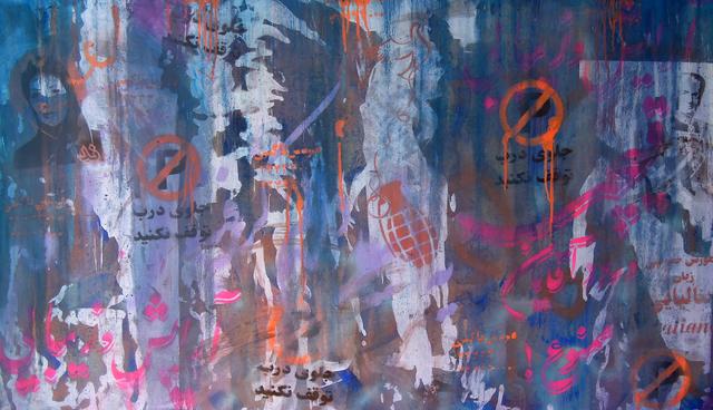 , 'Tehran Graffiti,' 2015, Galerie Huit