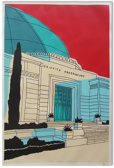 , 'Red Griffith Observatory,' , Wallspace