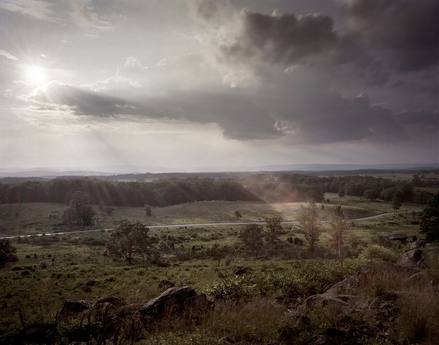 , 'Gettysburg: From Little Round Top ,' 2013, David Richard Gallery