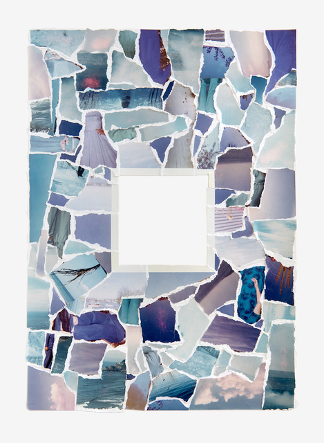 , 'Inside Out Photograph in Blue,' 2016, PDX CONTEMPORARY ART