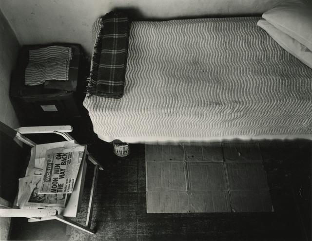 "David Goldblatt, '""'The maid's room' in the backyard of a suburban house""', 1969, Lee Gallery"