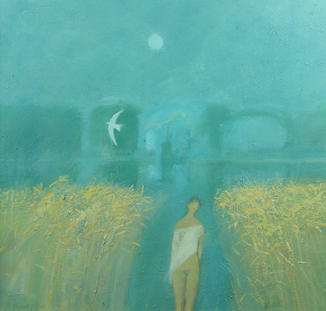 , 'Lakeside encounter no. 2,' 2006, Castlegate House Gallery