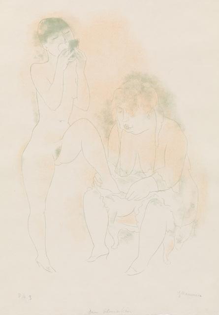 , 'Beim Schminken,' 1930-1932, Charles Nodrum Gallery