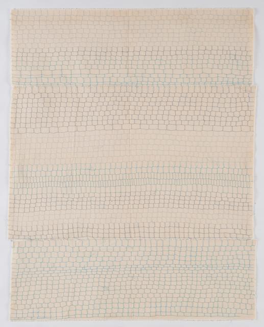 ", 'Grillage ""Tubino 4834"" (No.inv.7),' 1975-1976, GALERIE ARNAUD LEFEBVRE"