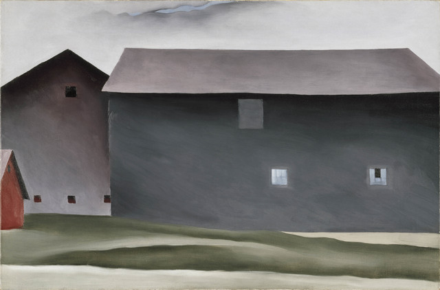 , 'Lake George Barns,' 1926, Tate Modern