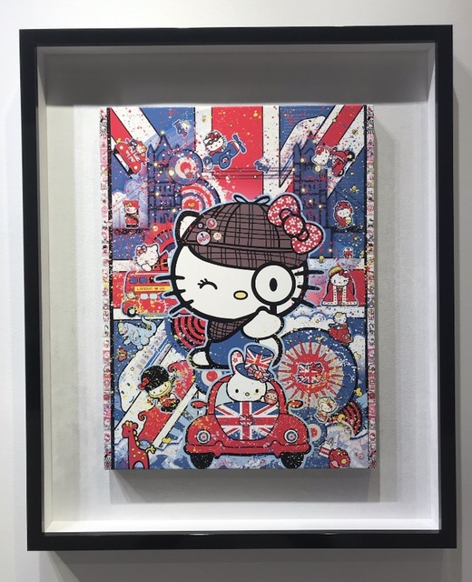 Sean Danconia, 'Hello Sherlock Kitty', 2018, Mouche Gallery