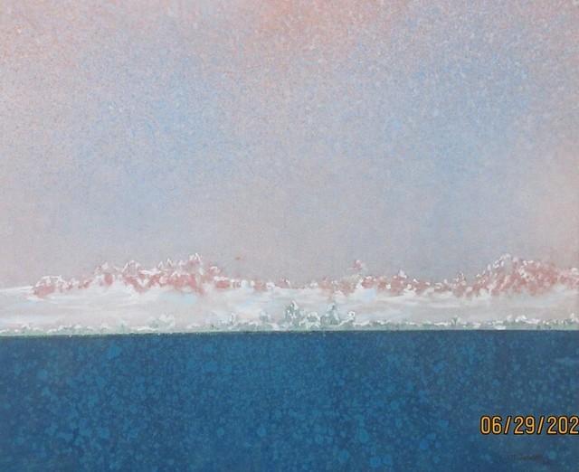 Jurg Jenzer, 'Antarctica', 2020, Painting, Acrylics, Dab Art