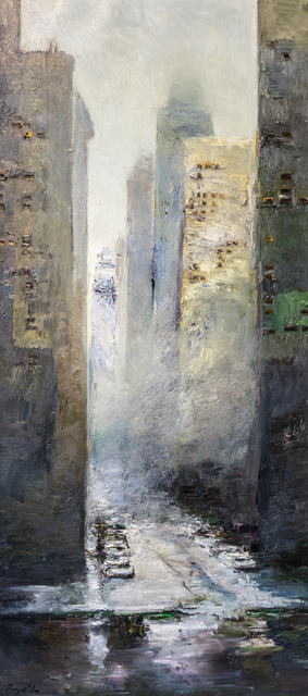 Danny McCaw, 'The City', ca. 2017, Painting, Oil on canvas, Lily Pad West