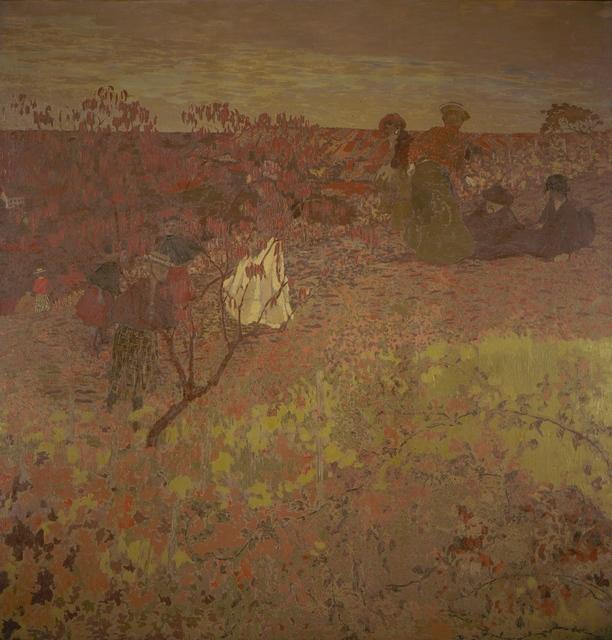Édouard Vuillard, 'Walking in the Vineyard ', ca. 1897-1899, Los Angeles County Museum of Art