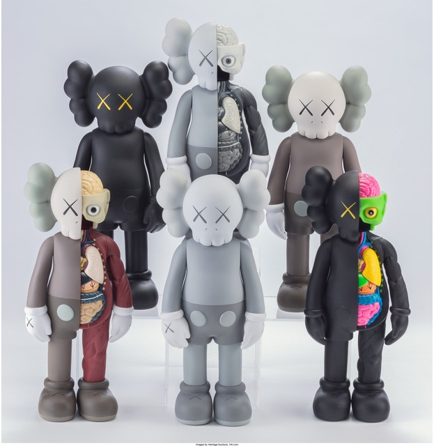 KAWS, 'Companion (Open Edition) (set of six)', 2016, Heritage Auctions