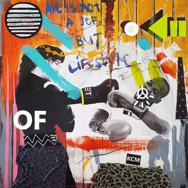 Eleanor Turvey and Chepape Khehla Makgato, 'The Future is a Collaboration IV', Erdmann Contemporary