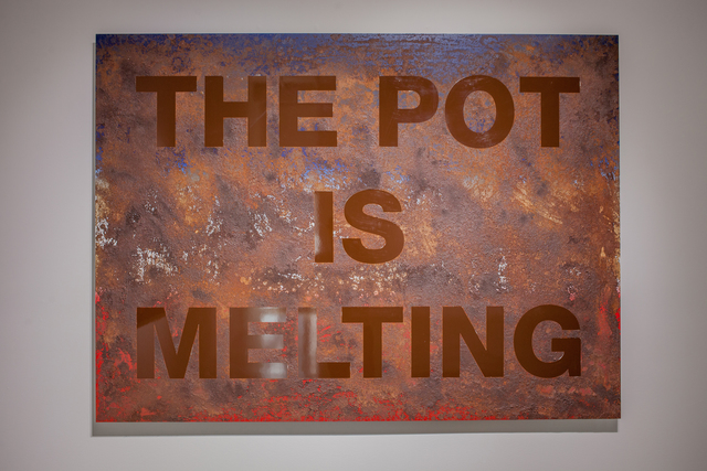 , 'The Pot is Melting,' 2017, Quint Gallery