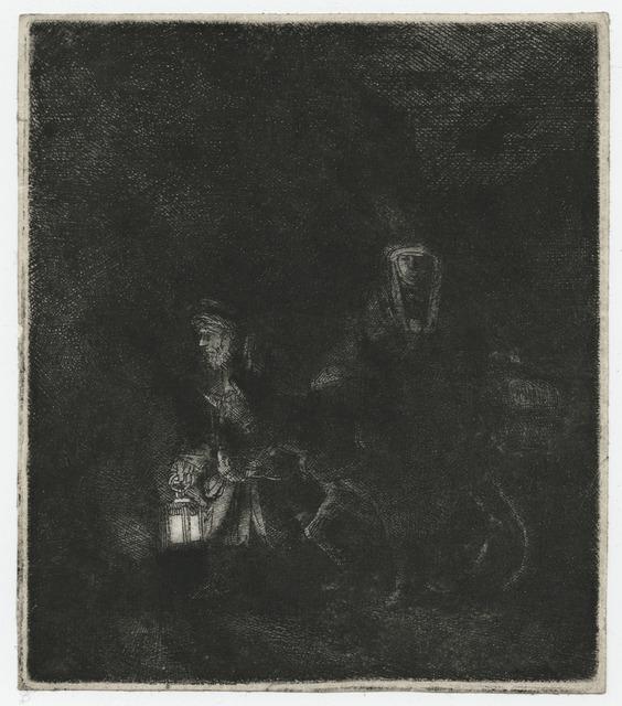 , 'The Flight into Egypt, A Night Piece [Fuite en Egypte, Effet de nuit],' , Childs Gallery