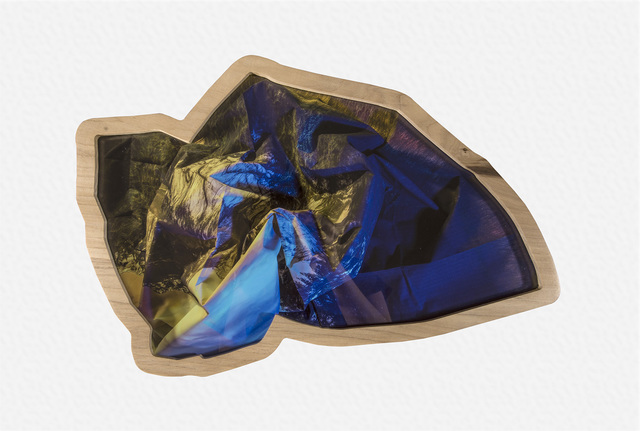 , 'Mountain View (blue & yellow),' 2016, Erin Cluley Gallery