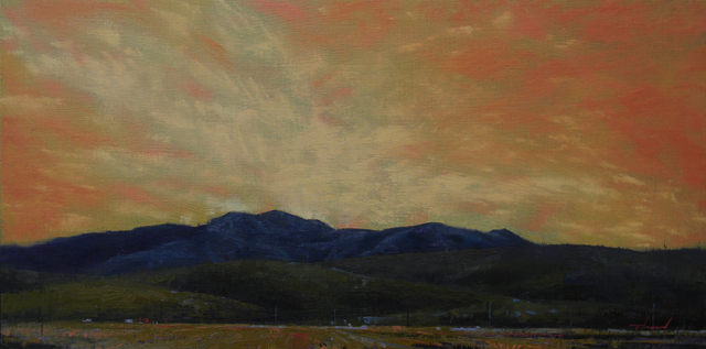 Tom Howard, 'Sunset Over the Fields of Bancroft', 2018, Phillips Gallery