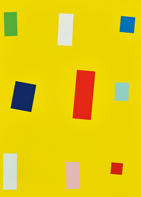 Imi Knoebel, 'Gelbe Fahne (Yellow Flag)', 1999, Phillips
