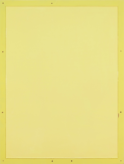 , 'from series Out of imperfection: Yellow on yellow,' 2016, Baró Galeria